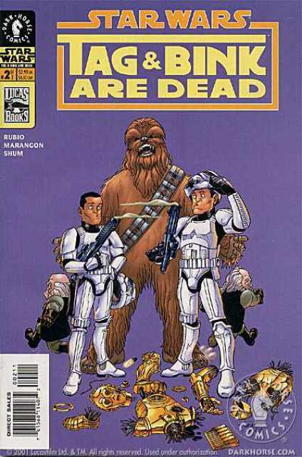 Star Wars: Tag and Bink Are Dead no. 2 (2001 Series) - Used