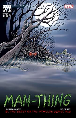 Man-Thing (2004) Complete Bundle - Used