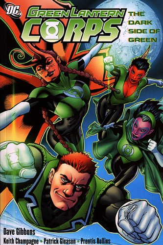 Green Lantern Corps: The Dark Side of Green TP - Used