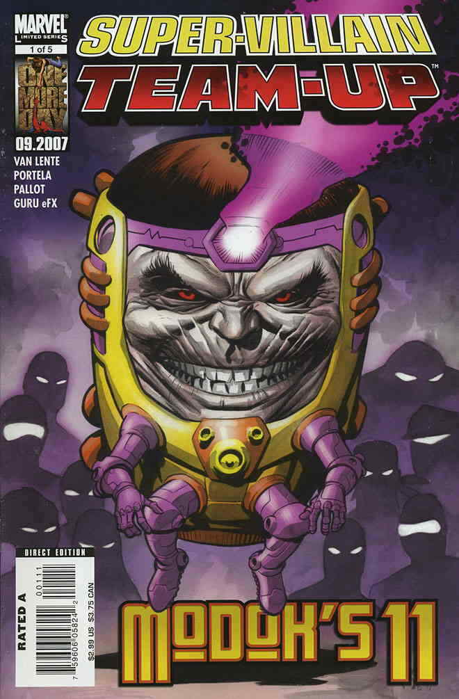 Super-Villain Team-Up MODOKs 11 (2007) Complete Bundle - Used