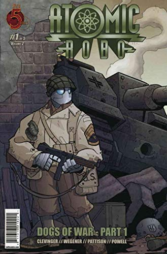 Atomic Robo (2008) Dogs of War Complete Bundle - Used