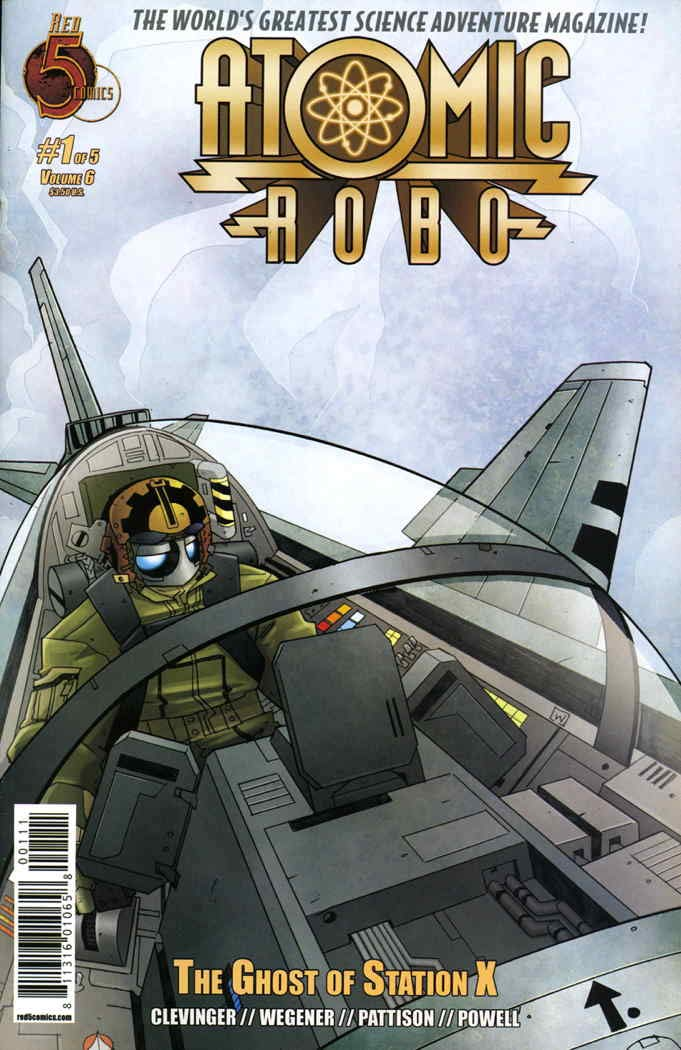 Atomic Robo (2011) Ghost of Station X Complete Bundle - Used