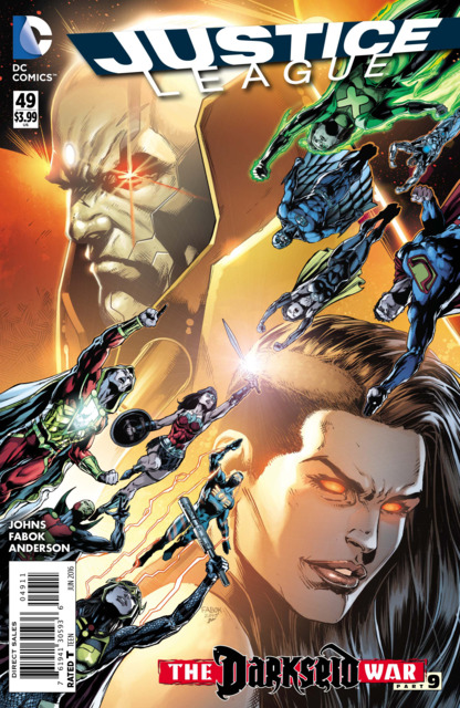 Justice League (2011 New 52) no. 49 - Used