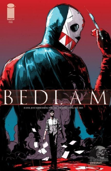 Bedlam (2012) no. 3 (Phantom Variant) - Used