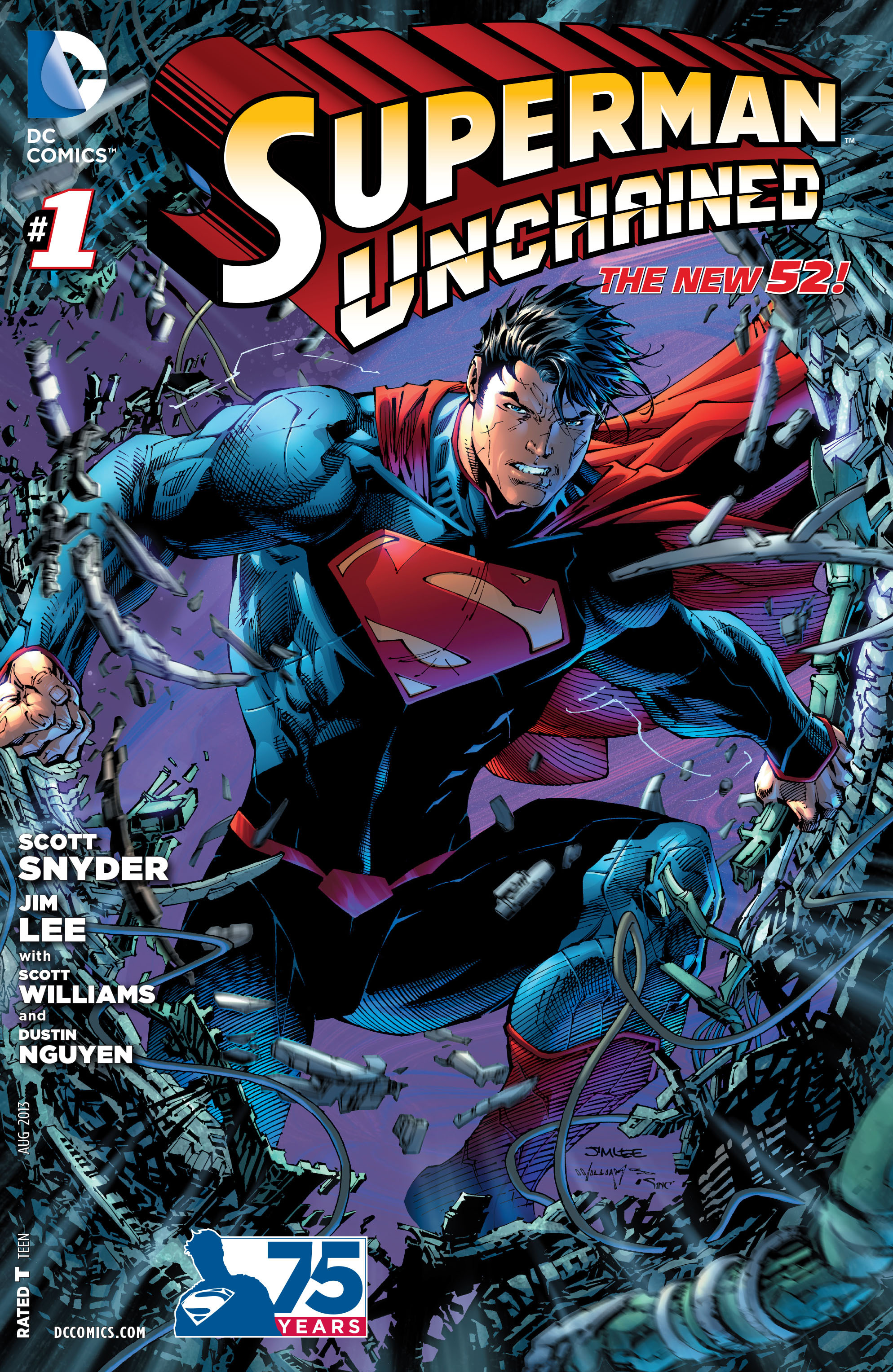 Superman Unchained (2013) Complete Bundle - Used