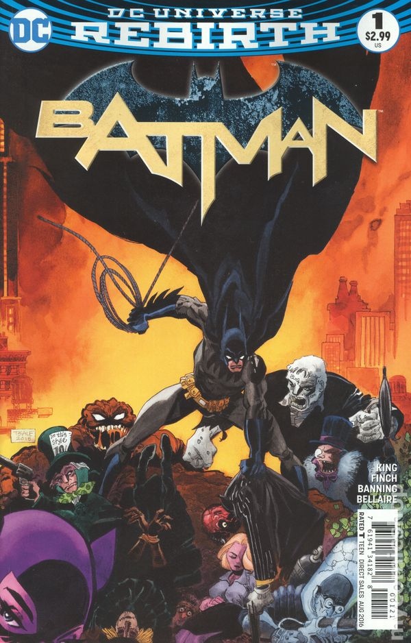 Batman (2016) no. 1 (Variant B) - Used
