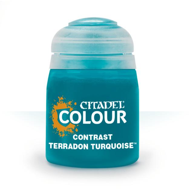 Citadel Contrast Paint: Terradon Turquoise 29-43