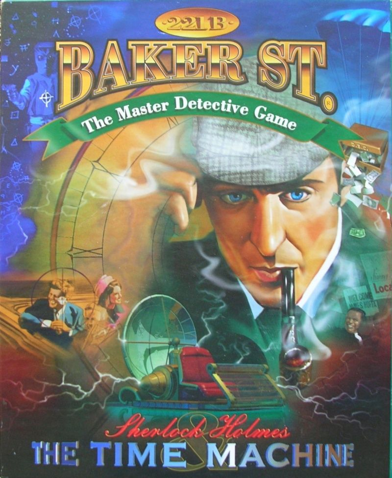 221B Baker St: Sherlock Holmes and the Time Machine Board Game