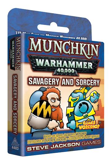 Munchkin: Warhammer 40K: Savagery and Sorcery Card Game