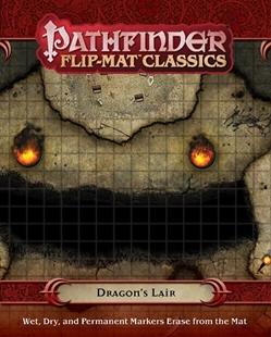 Pathfinder: Flip-Mat Classics: Dragons Lair