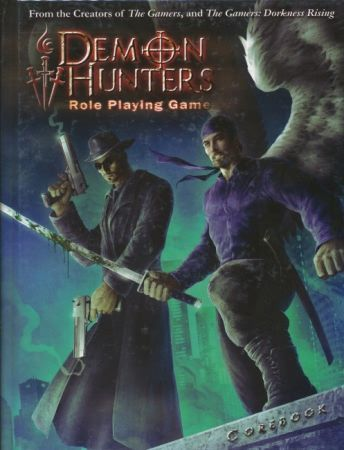 Demon Hunters Role Playing Game 1014 -USED
