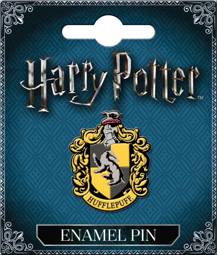 Enamel Pin: Harry Potter Hufflepuff Crest 51004