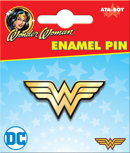 Enamel Pin: DC Wonder Woman Logo 51016