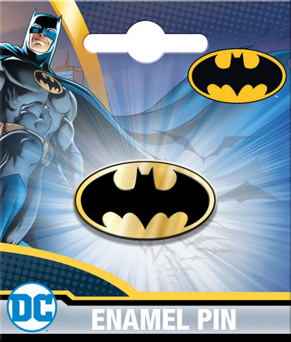 Enamel Pin: DC Batman Logo 51017