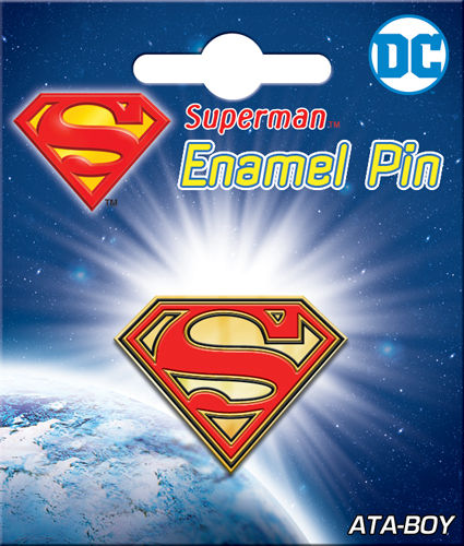 Enamel Pin: DC Superman Logo 51019