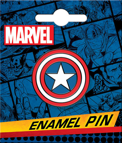 Enamel Pin: Captain America Shield 51031