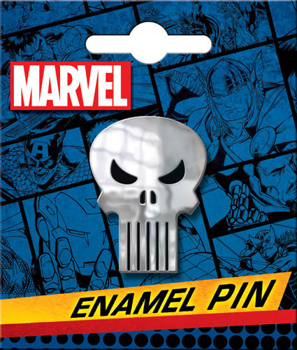 Enamel Pin: Punisher Skull 51038