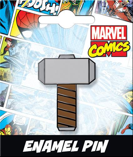 Enamel Pin: Mjolnir Hammer 51042