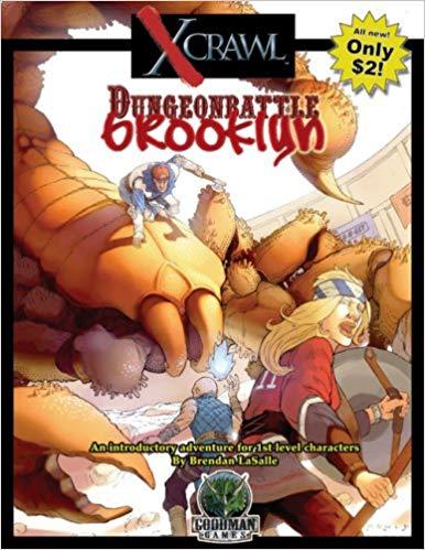 Xcrawl: Dungeonbattle Brooklyn 1008 d20 -USED