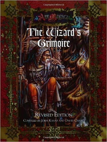 Ars Magica 4th Edition: The Wizards Grimoire: Revised Edition 258 - Used
