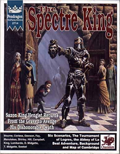 Pendragon Role Playing: The Spectre King 2714 - USED