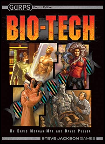 GURPS 4th ed: Bio-Tech - Used