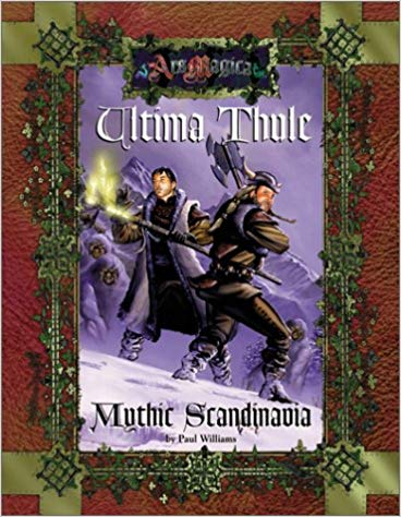 Ars Magica 4th Edition: Ultima Thule: Mythic Scandinavia 261 - Used