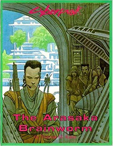 Cyberpunk 2020: The Arasaka Brainworm 5000 - Used