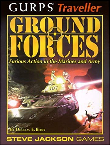Gurps Traveller: Ground Forces - Used