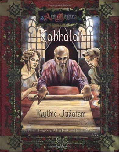 Ars Magica 4th Edition: Kabbalah: Mythic Judaism 255 - Used