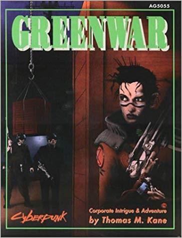 Cyberpunk 2020: Greenwar 5055 - Used