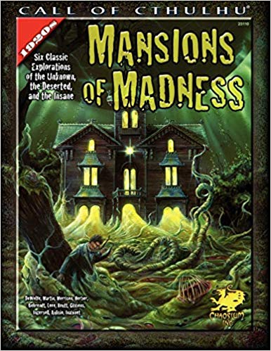 Call of Cthulhu 4th ed: Mansions of Madness 2327 - Used