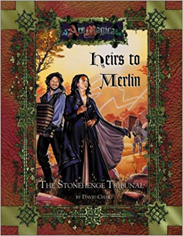 Ars Magica 4th Edition: Heris to Merlin 262 - Used