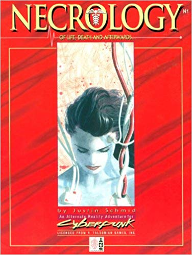 Cyberpunk 2nd ed: Necrology of Life, Death, and Afterwards 102 - Used