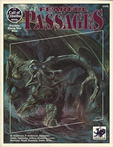 Call of Cthulhu 5th ed: Fearful Passages 2335 - Used
