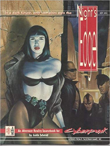 Cyberpunk 2020: Nights Edge 101 - Used