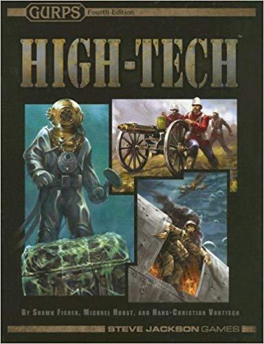 GURPS 4th ed: High-Tech - Used