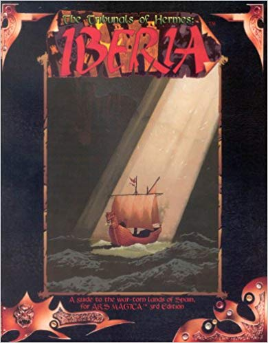 Ars Magica: 3rd Edition: Tribunals of Hermes: Iberia 0750 - Used
