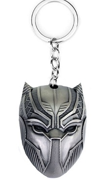Keychain: Black Panther Mask