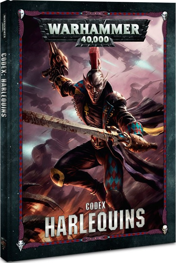 Warhammer 40K: Codex: Harlequins HC