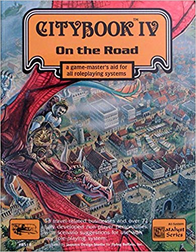 CityBook IV: On the Road: A Game-Masters Aid for All RPG Systems - Used