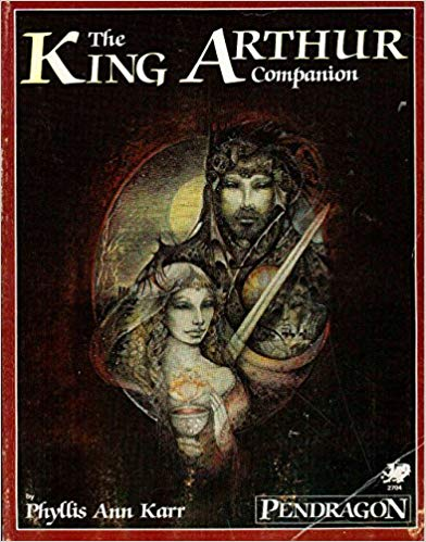 Pendragon Role Playing: The King Arthur Companion 2704 - Used