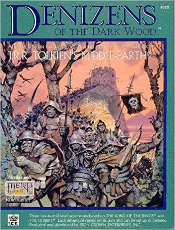 Middle-Earth Role Playing: Denizens of the Dark Wood 8111 - Used