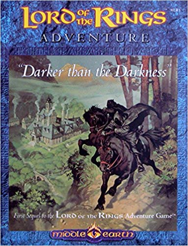 Adventures in Middle-Earth: Darker than Dark LR1 -USED