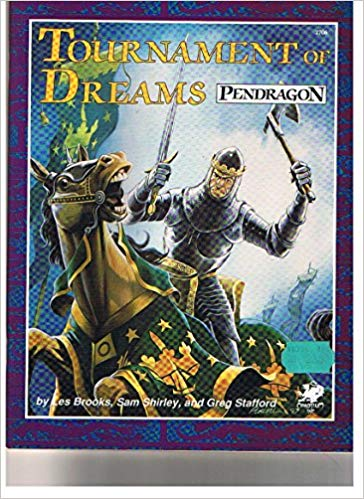 Pendragon Role Playing: Tournament of Dreams 2706 - Used