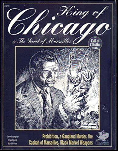 Call of Cthulhu 5th ed: King of Chicago 2348 - Used