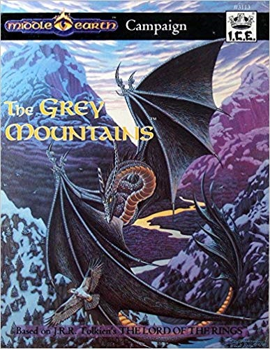 Middle Earth Adventure: The Grey Mountains 3113 - USED