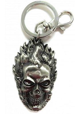 Keychain: Ghost Rider Mask