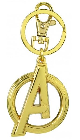 Keychain: Avengers Logo-Gold