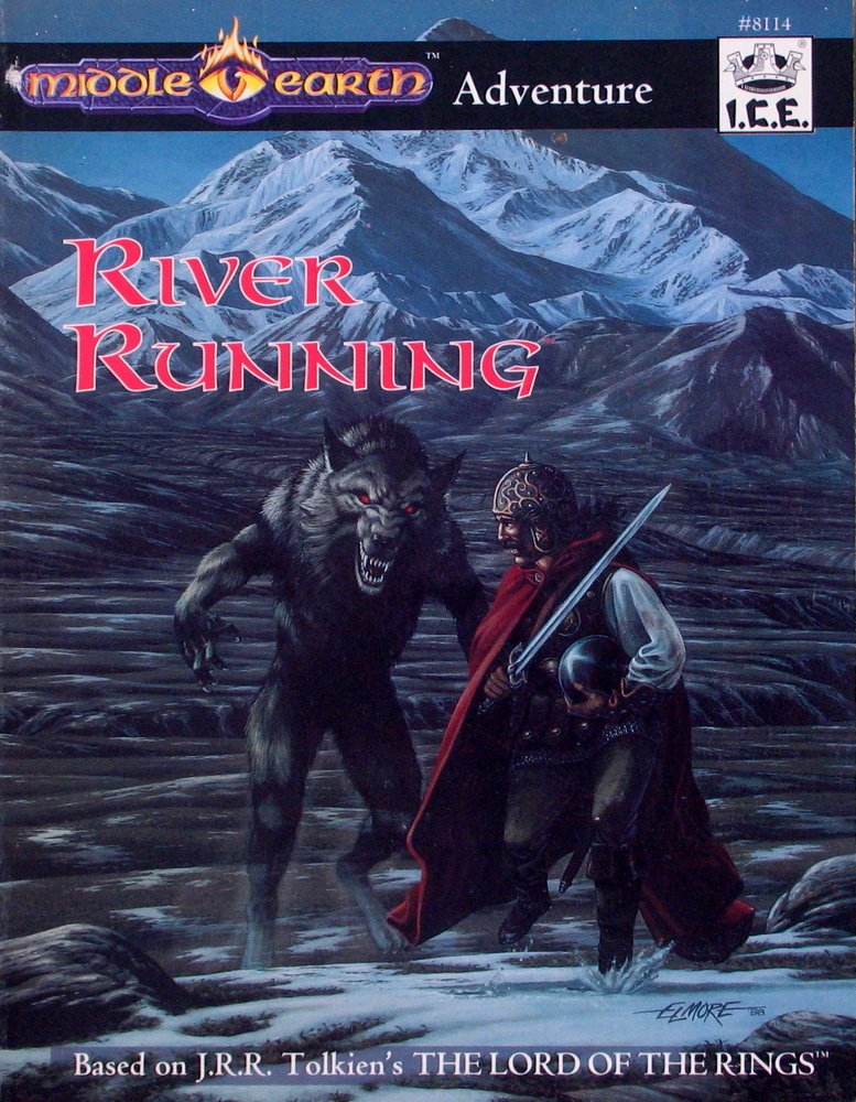 Middle Earth Adventure: River Running 8114 - USED